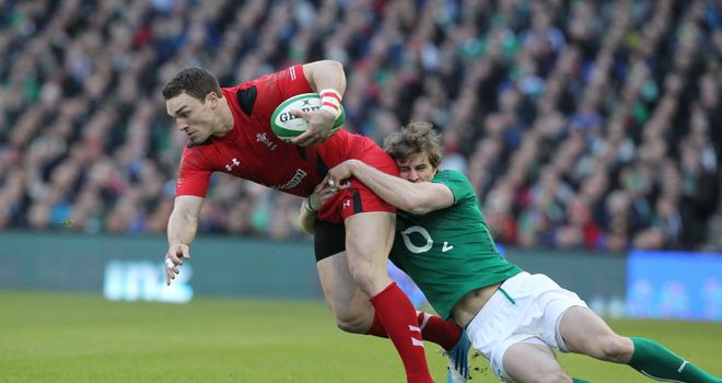 George North: Set to play in midfield against France