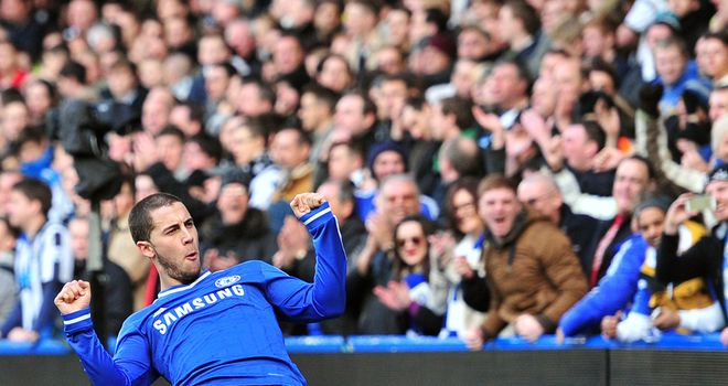 Eden Hazard: Has been catching the eye at Chelsea