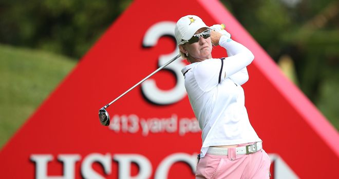 Karrie Webb: two shots clear after round two of HSBC Women's Champions
