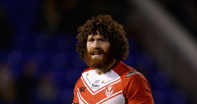Kyle Amor: Picked up the injury in Saints' Challenge Cup defeat to Leeds
