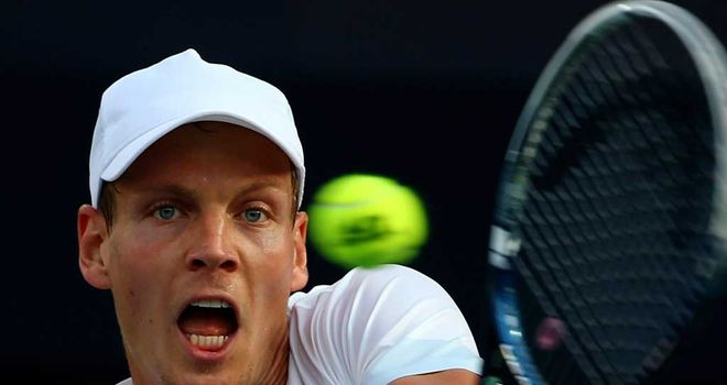 Tomas Berdych: Using the tournament in Portugal to tune up for the French Open
