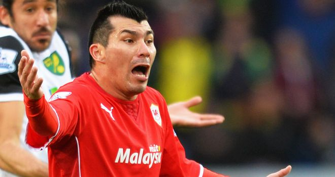Gary Medel: Cardiff midfielder included as one of Chile's defensive options