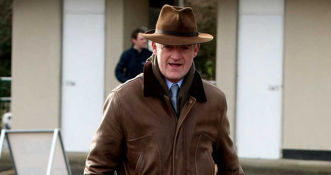 Willie Mullins: Has three contenders in the juvenile race