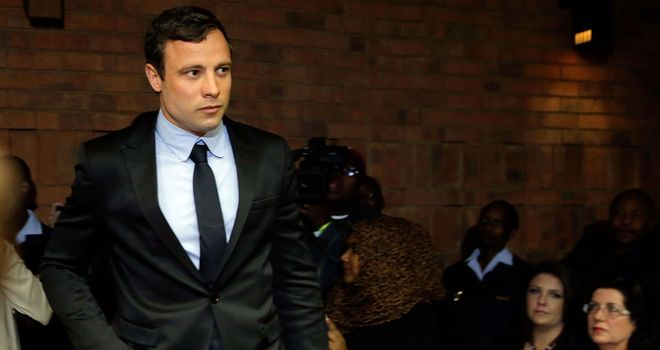 Oscar Pistorius: pleaded not guilty at the start of his trial in Pretoria