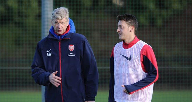 Arsene Wenger: Claims Mesut Ozil is over his penalty nightmare