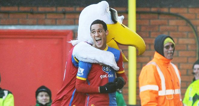 Tom Ince: Celebrates after making it 1-0