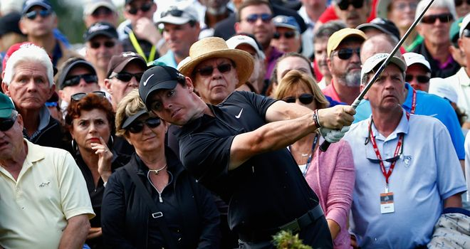 Rory McIlroy: Bounced back from poor start to maintain lead in Florida