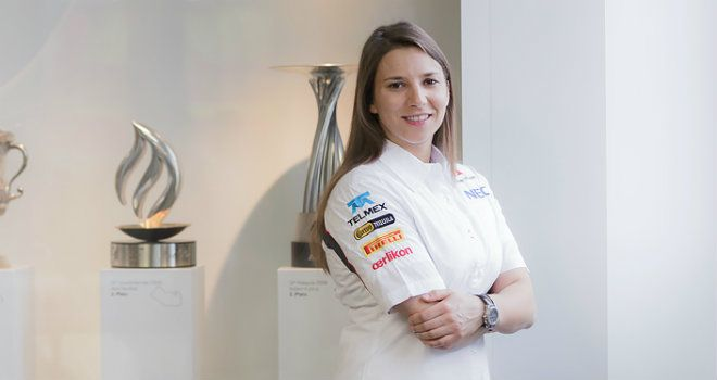 Simona de Silvestro: Will get track testing time with Sauber (Sauber image)