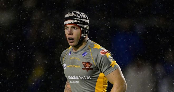 Theo Fages: scored two of Salford Red Devils' eight tries at The Hive