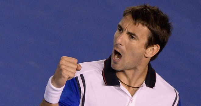 Tommy Robredo: Came from a set down to beat Guido Pella