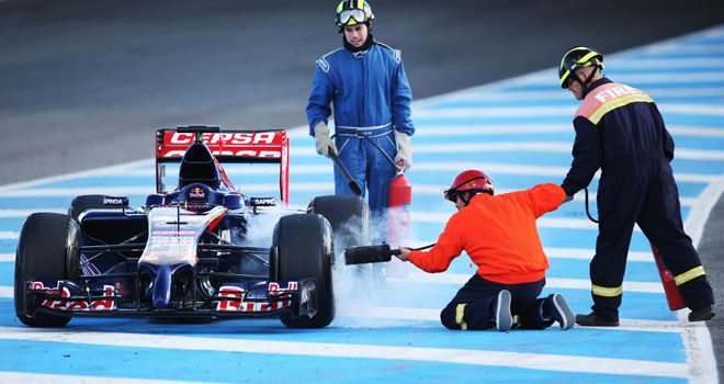 Toro Rosso: Endured a tough baptism with the STR9