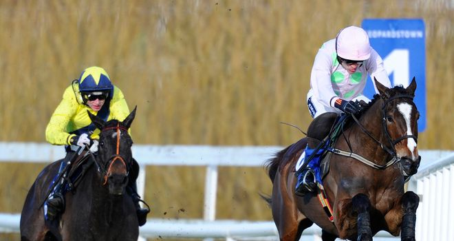 The Tullow Tank: Not at his best behind Vautour