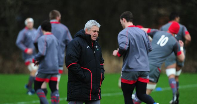 Warren Gatland: Not afraid to ring the changes with the 2015 Rugby World Cup in mind