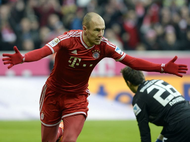 Arjen Robben: Looking forward to United clash