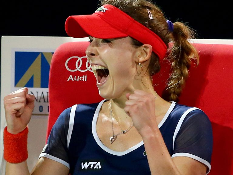 Alize Cornet: Best win of her career