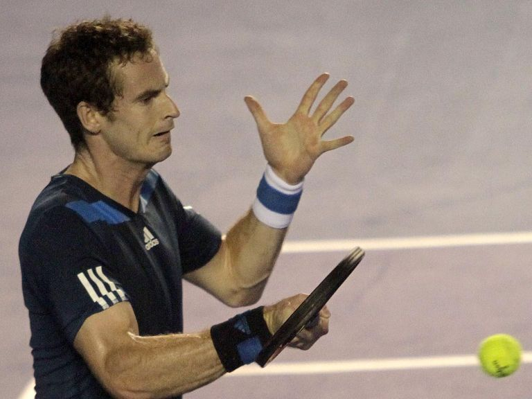 Andy Murray: Showed his battling qualities again