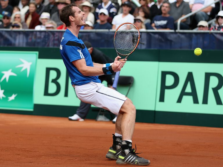 Andy Murray: Clinched Davis Cup victory in San Diego