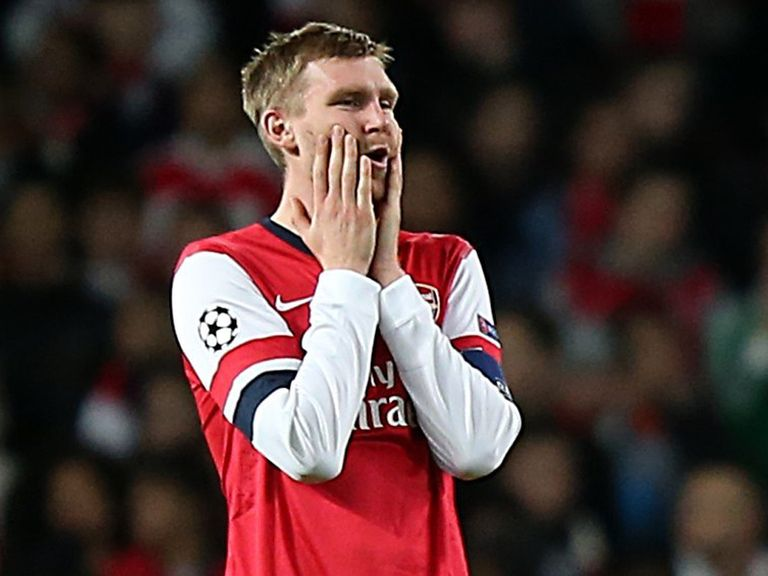 Per Mertesacker: 'No more slip-ups'