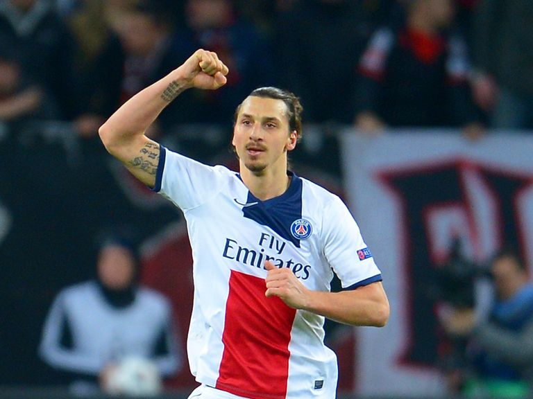Zlatan Ibrahimovic: Main man for PSG