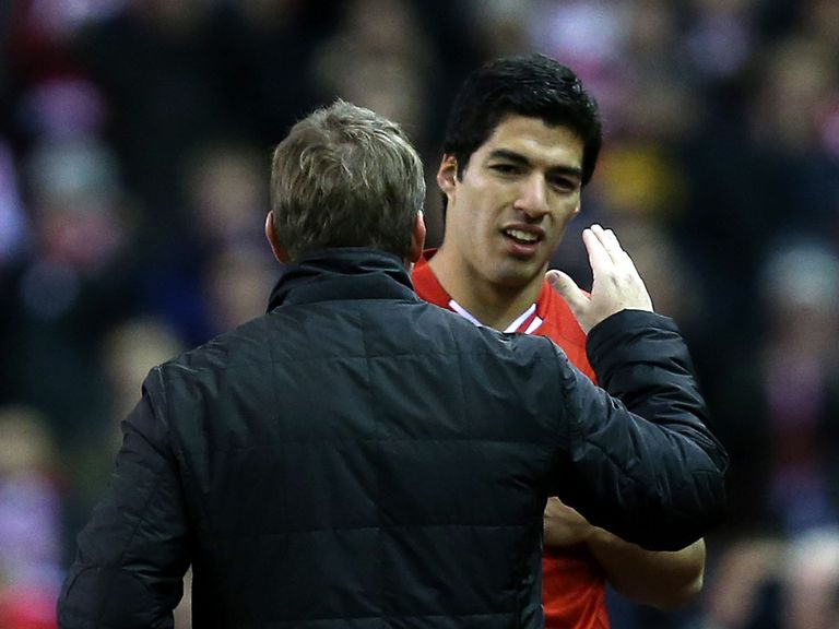Luis Suarez: Decided to stay at Liverpool
