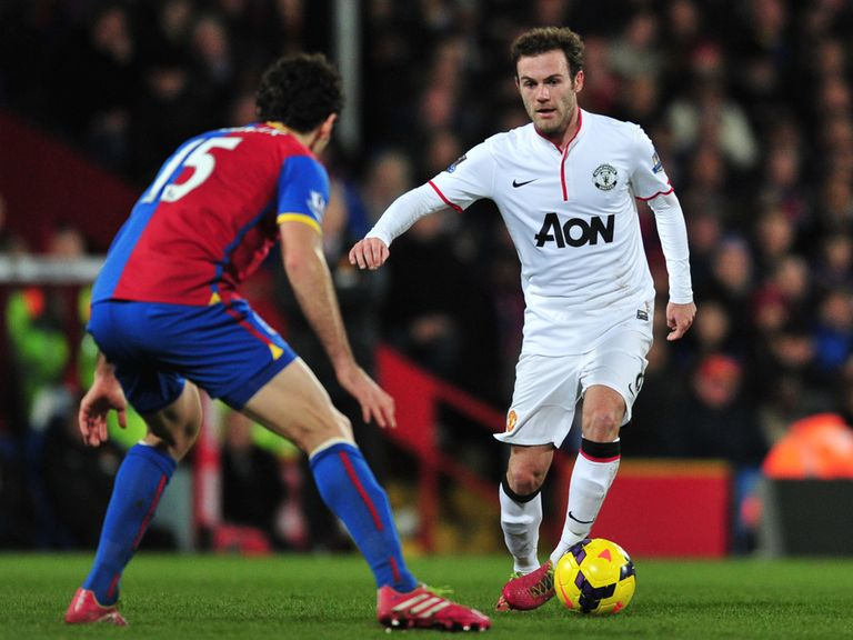 Mata: Looking forward to his first Manchester derby