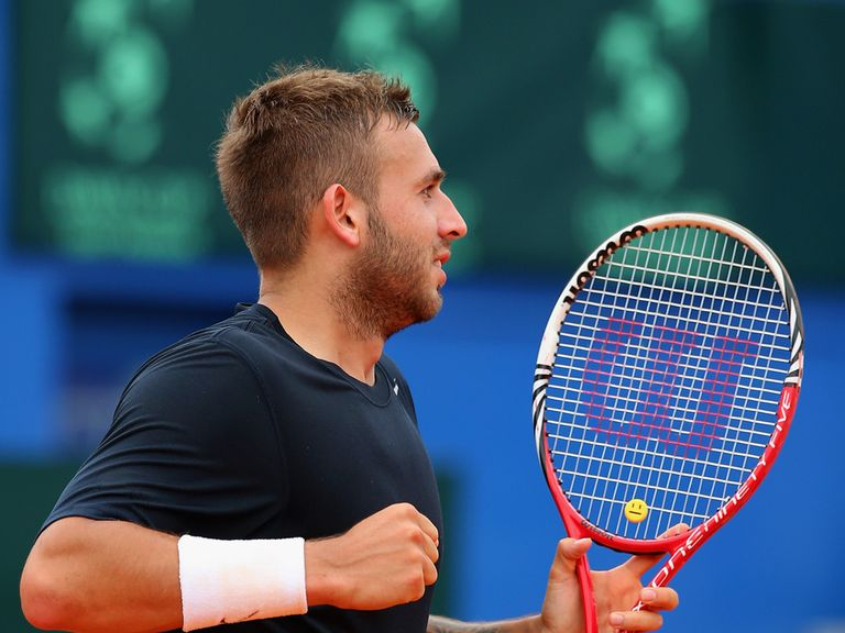 Dan Evans: Into the semi-finals in Zagreb