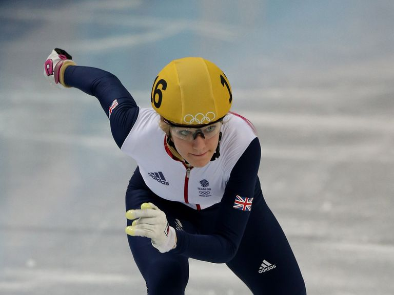 Elise Christie: Back on track in Sochi