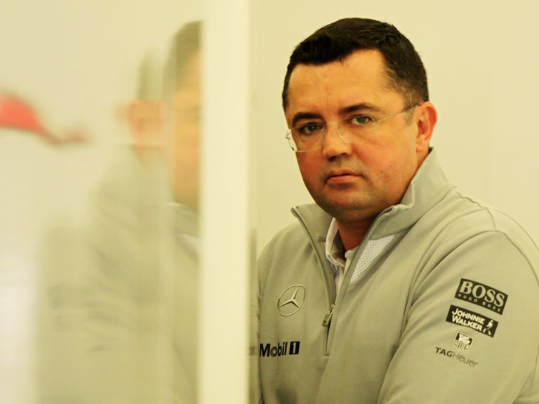 Eric Boullier: Confident of finding a solution