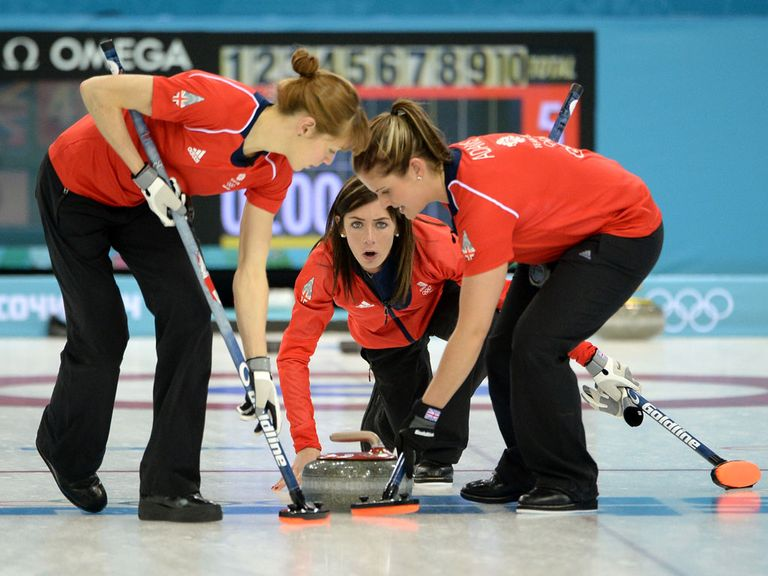 Eve Muirhead: Another win for the GB team