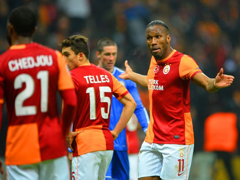 Drogba: Looking to spring a surprise at Chelsea