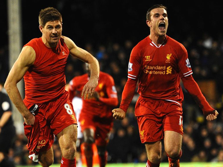 Jordan Henderson (r): Wants to help skipper Gerrard
