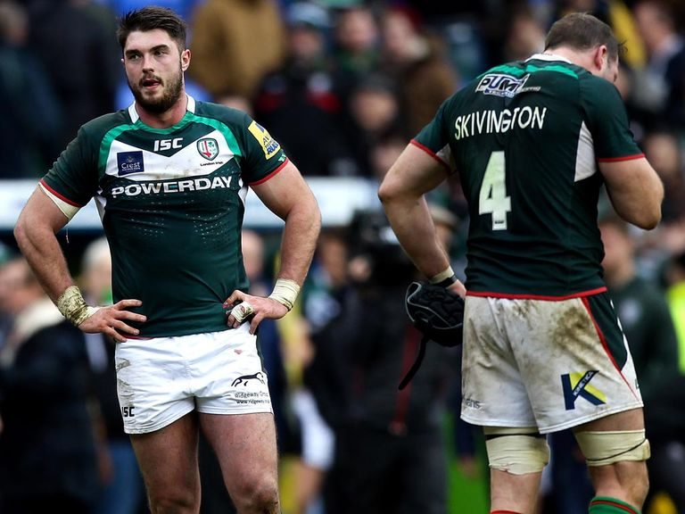 Disappointment for London Irish against Leicester
