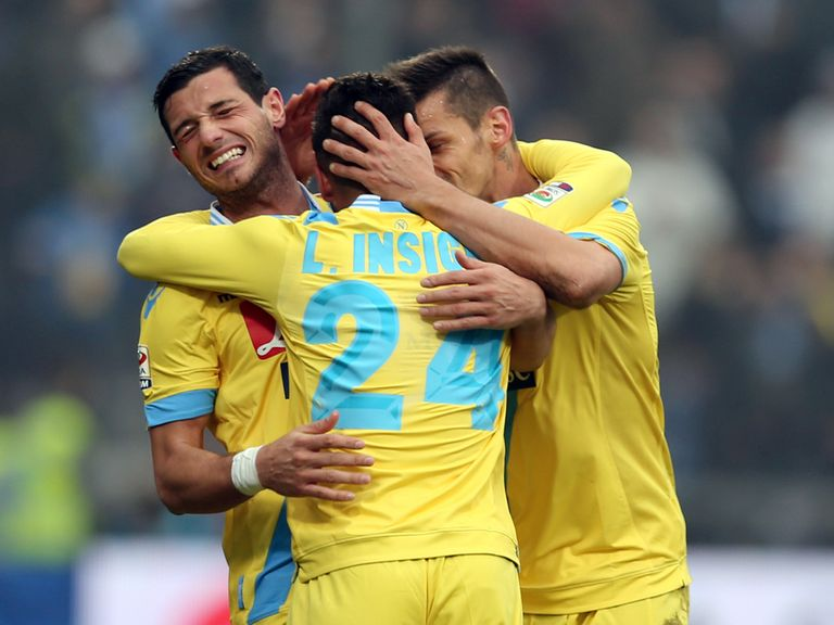 Napoli: Can celebrate victory over Swansea