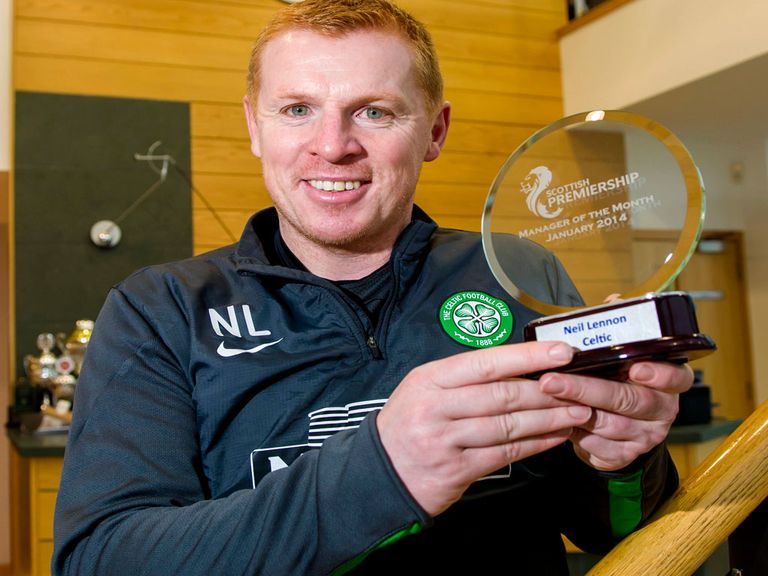 Neil Lennon: One of four nominees for the manager award