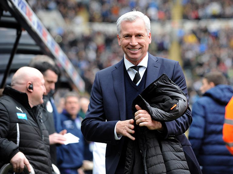 Alan Pardew: Looking to improve