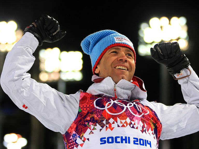 Ole Einar Bjoerndalen: Only fourth in the 12.5km biathlon pursuit