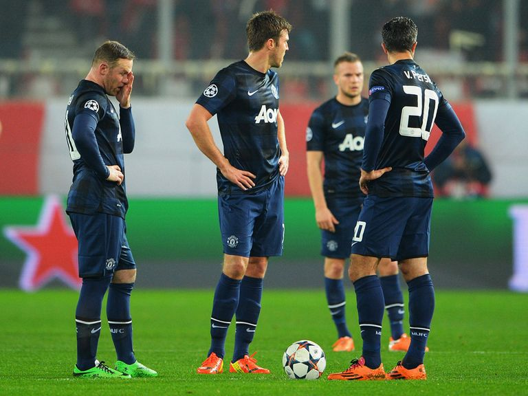 The misery continued for Manchester United on Tuesday