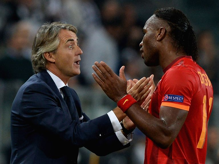 Chelsea will face Mancini and Drogba in Istanbul