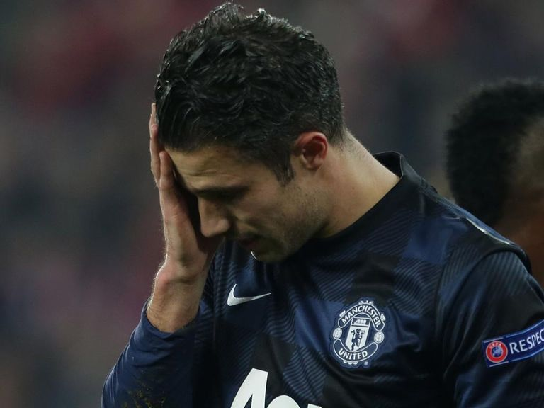 Van Persie: Capped disappointing display with late miss