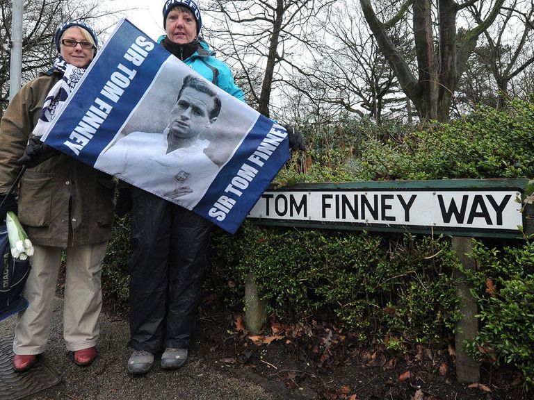 Sir Tom Finney, died aged 91