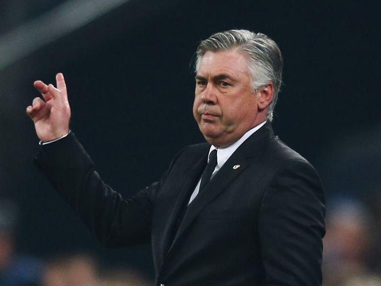 This way to Old Trafford: Carlo Ancelotti has been backed in
