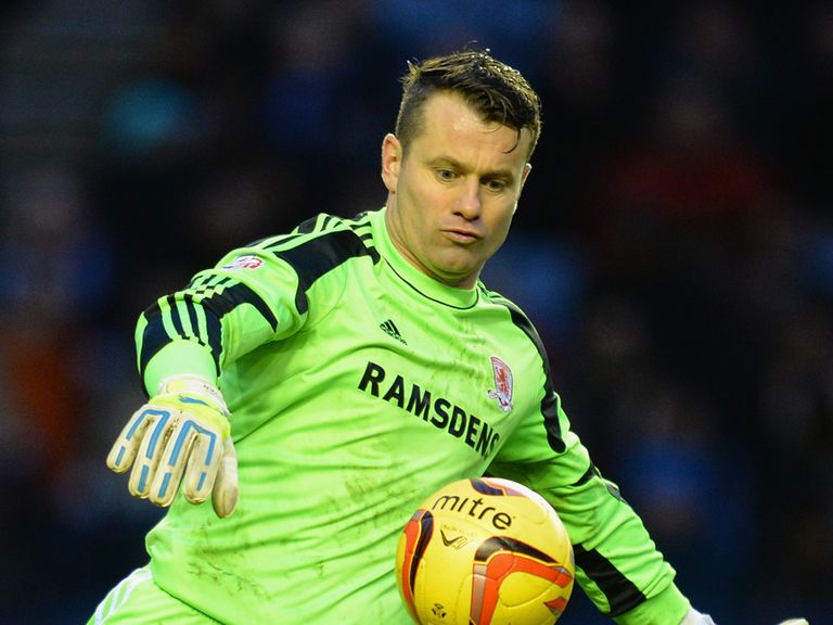 Shay Given: Hoping for move in the summer