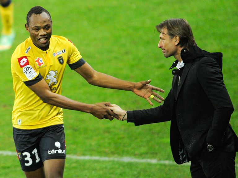 Herve Renard: Sochaux coach is hoping to stay up