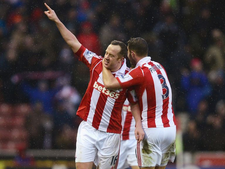 Charlie Adam fired Stoke to a surprise win over United