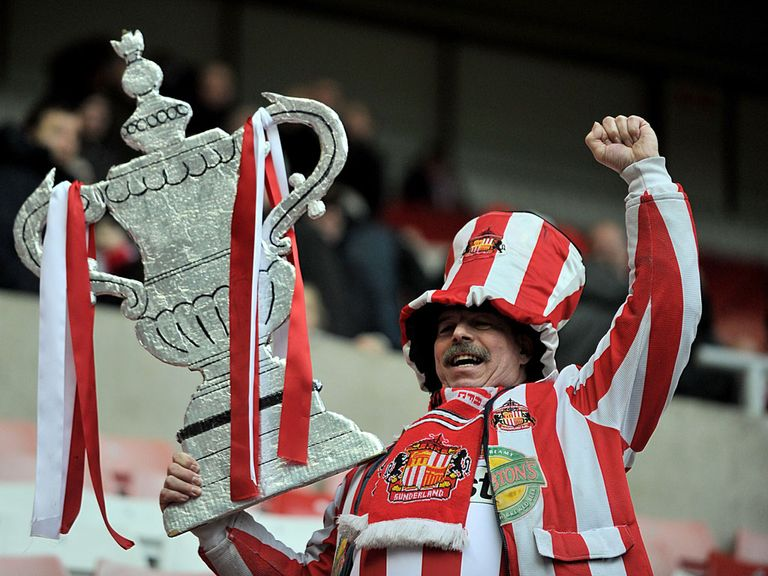 Sunderland fans enjoyed their victory over Southampton