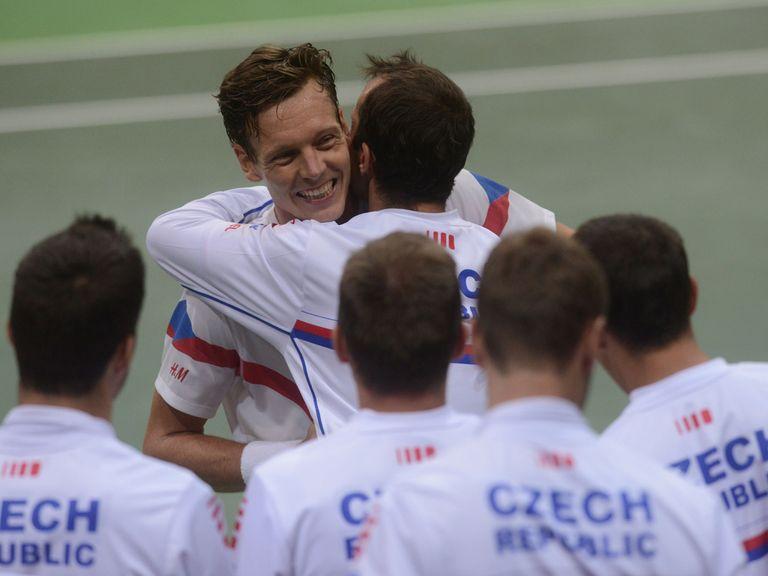 Tomas Berdych: Inspirational for the Czech Republic