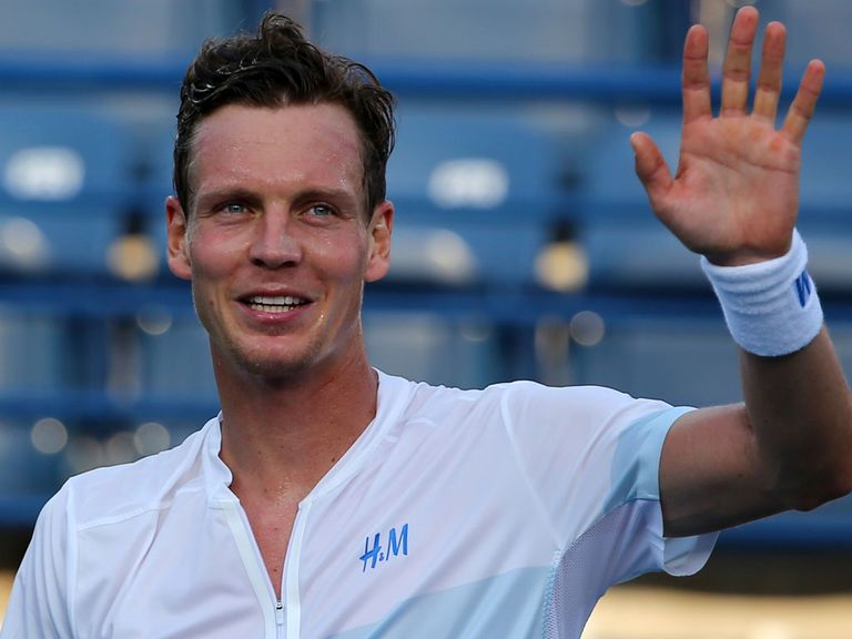 Tomas Berdych: Up to a career-high in the ATP rankings