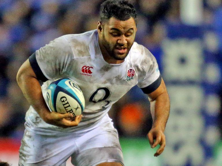 Billy Vunipola: Out of the Six Nations with an ankle injury