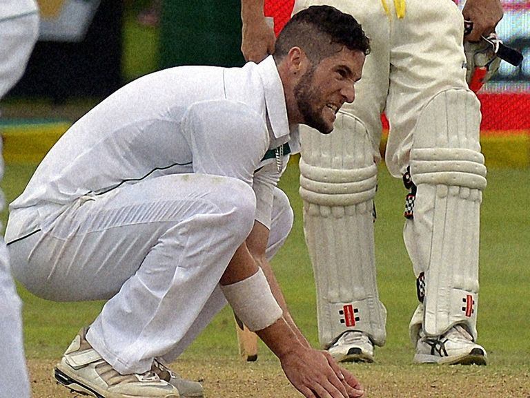Parnell: Misses Holland clash