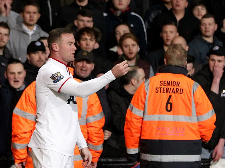 Wayne Rooney: Incident against Crystal Palace